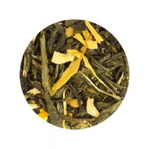 Grossiste Thé vert de Chine Pêche vrac - Fournisseur de Thés Tisanes vrac